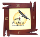 Wall Clock with Square Dial-SQC3